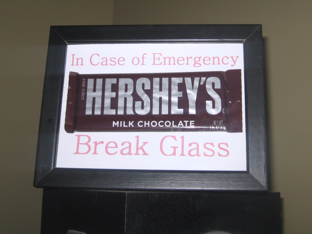 Friday (sort of) Funnies: In Case of Emergency