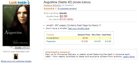 Augustina is $0.99