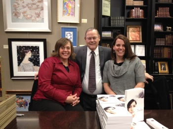Family Book Signing with Cynthia Lund Dobson, Gerald N. Lund, Rebecca Lund Belliston