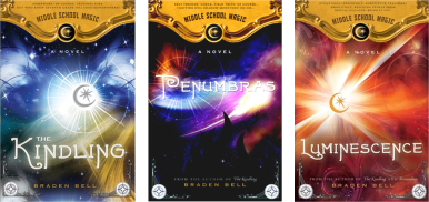 Middle School Magic Series by Braden Bell